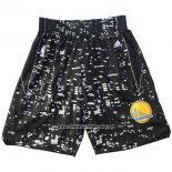 Pantalone Golden State Warriors Luci De La Citta Nero