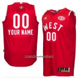 Camiseta All Star 2016 Adidas Personalizada Rojo