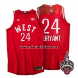 Camiseta All Star 2016 Kobe Bryant #24 Rojo