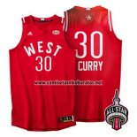 Camiseta All Star 2016 Stephen Curry #30 Rojo