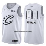 Camiseta All Star 2018 Cleveland Cavaliers Nike Personalizada Blanco