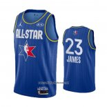 Camiseta All Star 2020 Los Angeles Lakers LeBron James #23 Azul
