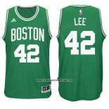 Camiseta Boston Celtics David Lee #42 Verde