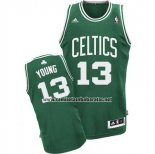Camiseta Boston Celtics James Young #13 Verde