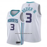Camiseta Charlotte Hornets Terry Rozier III #3 Association Blanco