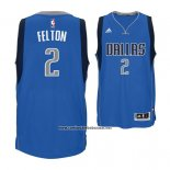Camiseta Dallas Mavericks Raymond Felton #2 Azul