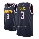 Camiseta Denver Nuggets Torrey Craig #3 Icon 2018-19 Azul