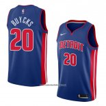 Camiseta Detroit Pistons Dwight Buycks #20 Icon 2018 Azul