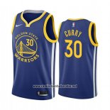 Camiseta Golden State Warriors Stephen Curry #30 Icon 2019-20 Azul