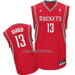 Camiseta Houston Rockets James Harden #13 Rojo