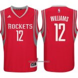 Camiseta Houston Rockets Troy Williams #12 Rojo