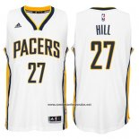 Camiseta Indiana Pacers George Hill #27 Blanco