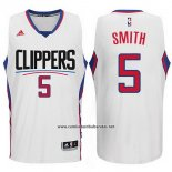 Camiseta Los Angeles Clippers Josh Smith #5 Blanco