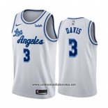 Camiseta Los Angeles Lakers Anthony Davis #3 Classic 2019-20 Blanco