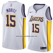Camiseta Los Angeles Lakers Wagner Moritz #15 Association 2018 Blanco