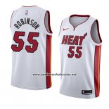 Camiseta Miami Heat Duncan Robinson #55 Association 2018 Blanco