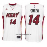 Camiseta Miami Heat Gerald Green #14 Blanco