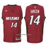 Camiseta Miami Heat Gerald Green #14 Rojo