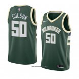 Camiseta Milwaukee Bucks Bonzie Colson #50 Icon 2018 Verde
