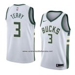 Camiseta Milwaukee Bucks Jason Terry #3 Association 2018 Blanco