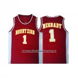 Camiseta Mountzion Tracy McGrady #1 Rojo