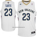 Camiseta New Orleans Pelicans Anthony Davis #23 Blanco