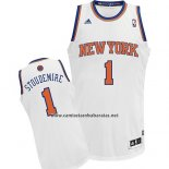 Camiseta New York Knicks Amar'e Stoudemire #1 Blanco