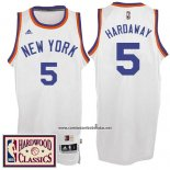 Camiseta New York Knicks Tim Hardaway #5 Retro Blanco