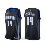 Camiseta Orlando Magic D.j. Augustin #14 Statement Negro