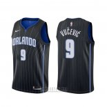 Camiseta Orlando Magic Nikola Vucevic #9 Statement Negro