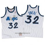 Camiseta Orlando Magic Shaquille O'Neal #32 Retro Blanco