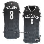 Camiseta Resonate Moda Brooklyn Nets Deron Williams #8 Negro