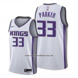 Camiseta Sacramento Kings Jabari Parker #33 Association 2019-20 Blanco