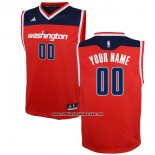 Camiseta Washington Wizards Adidas Personalizada Rojo