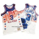 Camiseta All Star 2003 Allen Iverson #3 Mitchell & Ness Blanco