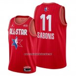 Camiseta All Star 2020 Indiana Pacers Domantas Sabonis #11 Rojo