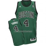 Camiseta Boston Celtics Isaiah Thomas #4 Verde