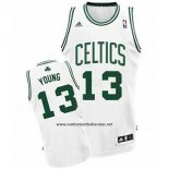 Camiseta Boston Celtics James Young #13 Blanco