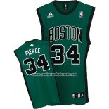 Camiseta Boston Celtics Paul Pierce #34 Verde