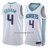 Camiseta Charlotte Hornets Devonte Graham #4 Association 2018 Blanco