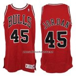 Camiseta Chicago Bulls Michael Jordan #45 Retro Rojo