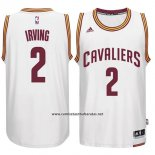 Camiseta Cleveland Cavaliers Kyrie Irving #2 Blanco