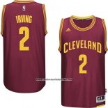 Camiseta Cleveland Cavaliers Kyrie Irving #2 Rojo