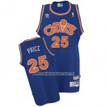 Camiseta Cleveland Cavaliers Mark Price #25 Retro 2008 Azul