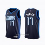 Camiseta Dallas Mavericks J.j. Barea #5 Ciudad 2018-19 Azul