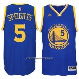 Camiseta Golden State Warriors Marreese Speights #5 Azul
