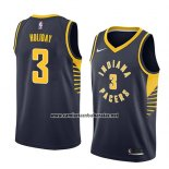 Camiseta Indiana Pacers Aaron Holiday #3 Icon 2018 Azul