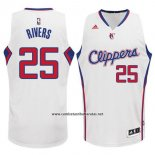 Camiseta Los Angeles Clippers Austin Rivers #25 Blanco