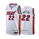 Camiseta Miami Heat Jimmy Butler #22 Association 2018 Blanco
