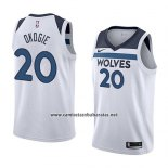 Camiseta Minnesota Timberwolves Josh Okogie #20 Association 2018 Blanco